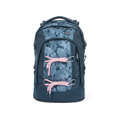 satch pack School Backpack Ninja Hibiscus Graffiti