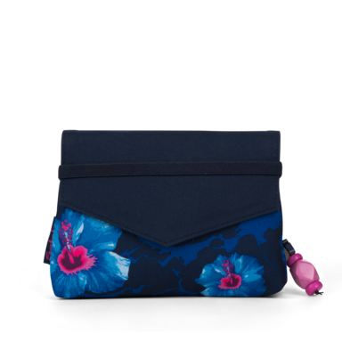 satch Beauty Wallet Waikiki Blue