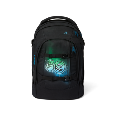 satch pack School Backpack Carbon Black