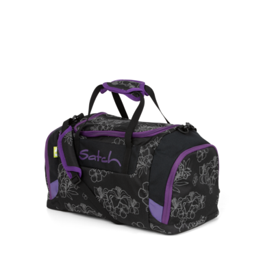 satch Duffle Bag Black Volcano