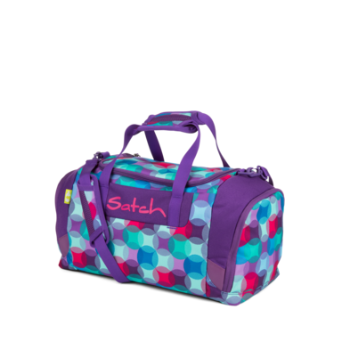 satch Duffle Bag Splashy Lazer