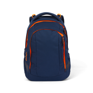 satch sleek School Backpack Toxic Orange