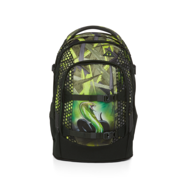 satch pack School Backpack Green Bermuda